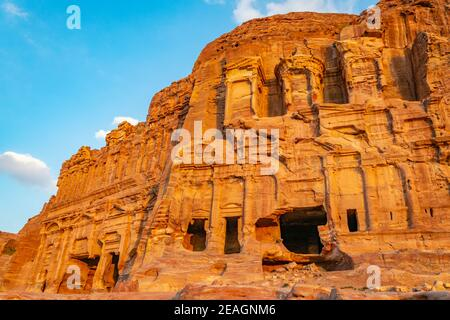 Tumbas de Corinto y Palacio en petra, Jordania
