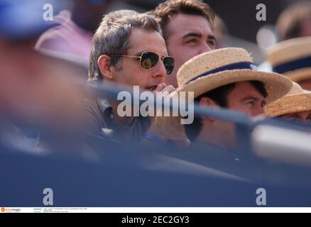 Tenis - US Open - Flushing Meadows - Nueva York - Estados Unidos de América - 9/9/06 actor Ben Stiller crédito obligatorio: Action Images / Jason o'Brien