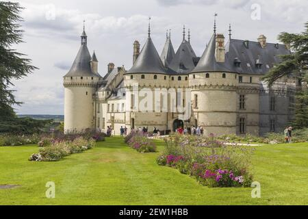 Francia, Indre y Loira, valle del Loira catalogado como Patrimonio de la Humanidad por la UNESCO, Chaumont-sur-Loire, dominio de Chaumont-sur-Loire, festival internacional de jardín, tema 2020 los jardines de la tierra de vuelta a la madre tierra