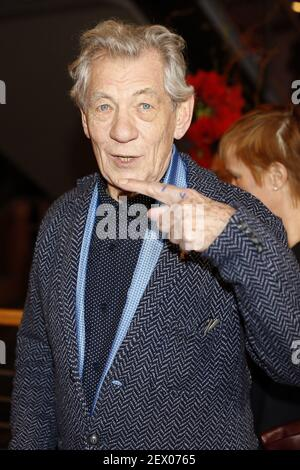 Ian McKellen asiste a la 'M. Holmes' estreno durante el Festival Internacional de Cine de Berlín 65th el 2015 el 8 de febrero de 2015 en Berlín, Alemania. 9Photo por Viennareport)*** por favor, utilice el campo de crédito ***