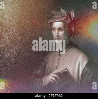 Dante Alighieri, 1265 - 1321, poeta y filósofo italiano