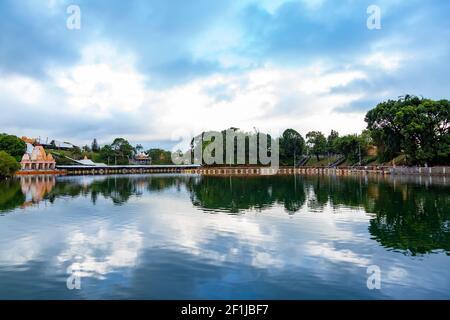 Ganga Talao el lago sagrado de Grand Bassin, Mauricio