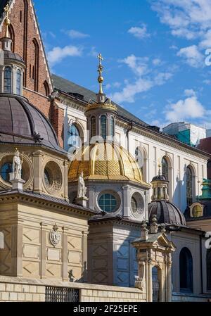 La catedral de Wawel, en Cracovia, Polonia.