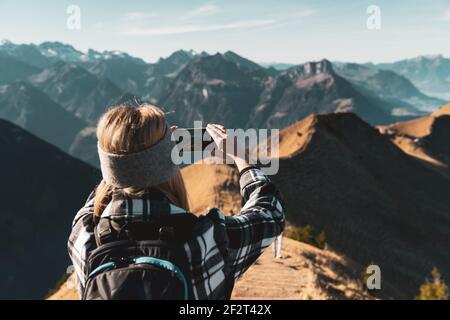 IPhone Shot - Herbst GRATWANDERUNG KLINGENSTOCK nach FRONALPSTOCK - Stoos (Schwyz) - Schweiz