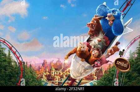 GRETA,STEVE,BOOMER,JUNE,MANÍ,GUS,COOPER, WONDER PARK, 2019, ©PARAMOUNT ANIMATION