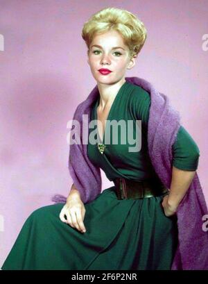 MARTES SOLDADURA actriz de cine estadounidense alrededor de 1960. Foto: StarPix