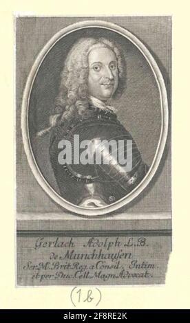 Münchhausen, Gerlach Adolf Freiherr von Stecher: Bernigeroth, Johann Martin