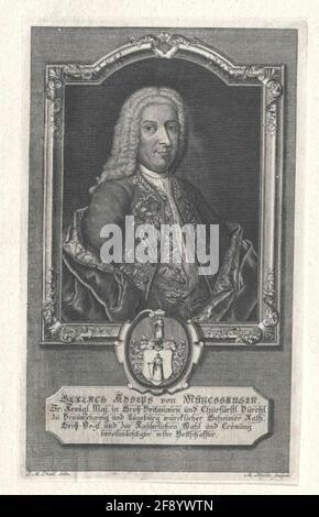 Münchhausen, Gerlach Adolf Freiherr von Draftsman: Diehl, J. M.Stech: Rößler, Michael