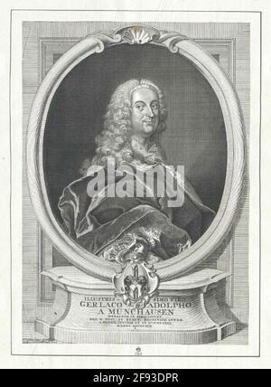 Münchhausen, Gerlach Adolf Freiherr von Stecher: Schrader, J.C.