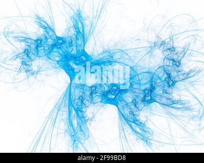 futurista surreal digital 3d diseño arte abstracto fondo fractal ilustración para meditación y decoración papel tapiz