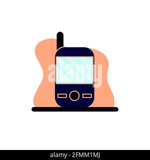 Teléfono móvil Conceptual Vector Ilustración Diseño Icono eps10 ideal para cualquier propósito