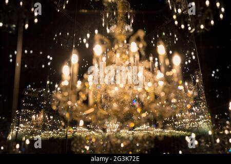 Londres, Reino Unido. 16th de junio de 2021. Foto tomada el 16 de junio de 2021 muestra una vista general de la exposición 'YAYOI KUSAMA-SALAS DE ESPEJOS INFINITOS' en Tate Modern en Londres, Gran Bretaña. Crédito: Han Yan/Xinhua/Alamy Live News