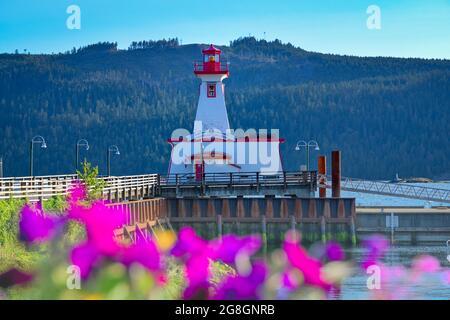 Faro, Centro de Descubrimiento marítimo, Puerto Quay, Port Alberni, British Columbia, Canadá