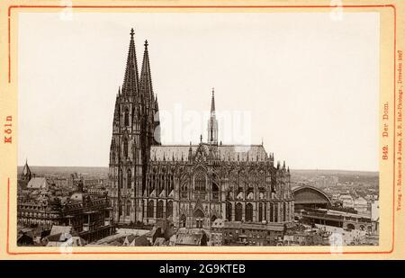 Geografía / viajes, Alemania, Renania del Norte-Westfalia, Colonia, DERECHOS-ADICIONALES-LIQUIDACIÓN-INFO-NO DISPONIBLE