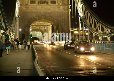 Tower Bridge de Londres Foto de stock