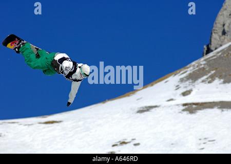 Markus Keller, snowboarder, campeón del mundo de halfpipe, Evento: Superfinal, Nescafé Champs Open 2006 Fecha: 5 de febrero de 2006 Lugar: