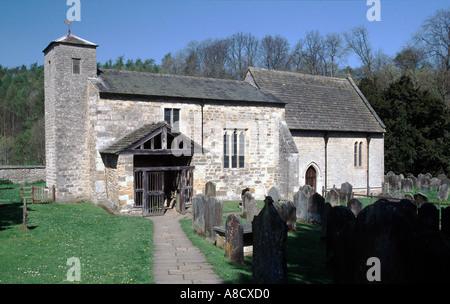 Saint Gregory s Minster Kirkdale Kirkbymoorside cercano Foto de stock