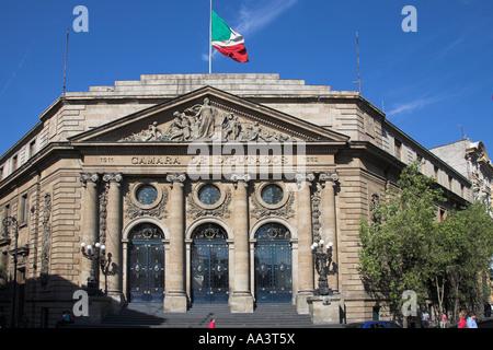 Asamblea de Representantes, la Cámara de Representantes, la Calle Donceles, en la Ciudad de México, México