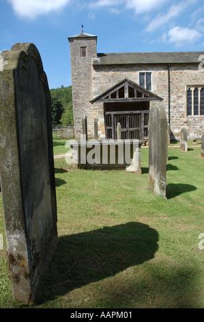 Saint Gregorys Minster en Kirkdale, North Yorkshire, Reino Unido Foto de stock