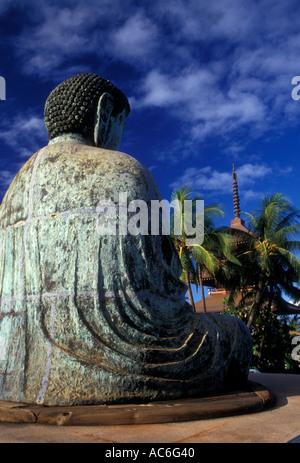 Amida Buddha, Lahaina Misión Jodo Parque Cultural Budista, misión, punto Puunoa Jodo, la ciudad de Lahaina, Maui, Hawai