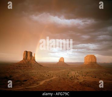 Estados Unidos - Arizona: Monument Valley Foto de stock