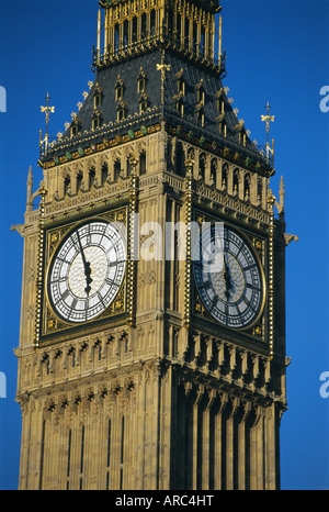 El Big Ben, las Casas del Parlamento, en Westminster, Londres, Inglaterra, Reino Unido, Europa