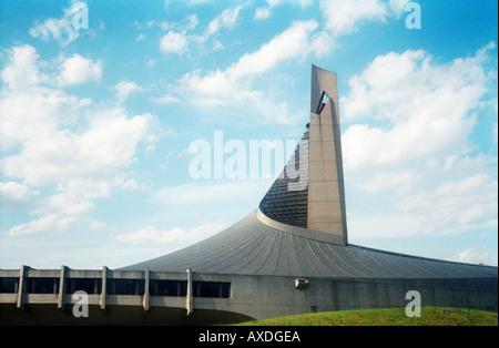 Estadio Nacional Yoyogi los Juegos Olímpicos de Tokio 1964 Kenzo Tange arquitecto
