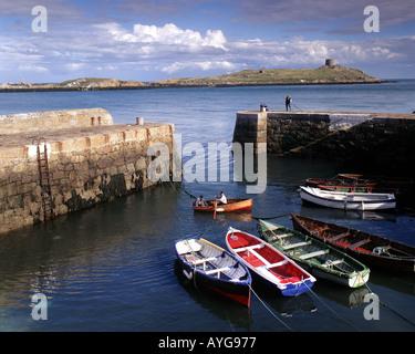IE - Co., Dublín: Puerto de Coliemore Dalkey Foto de stock
