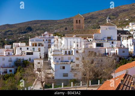 Ciudad de valor, Las Alpujarras, en la periferia del Parque Natural de Sierra Nevada, provincia de Granada, Andalucía (Andalucía)