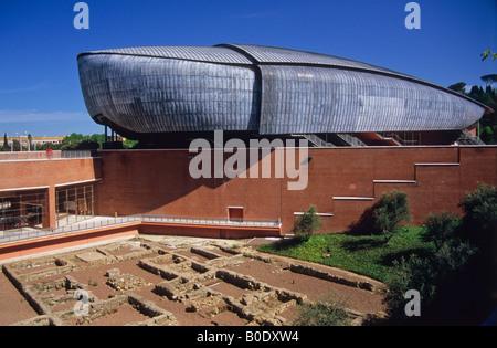 Auditorio Parco della Musica, por el arquitecto Renzo Piano, Roma, Lazio, Italia
