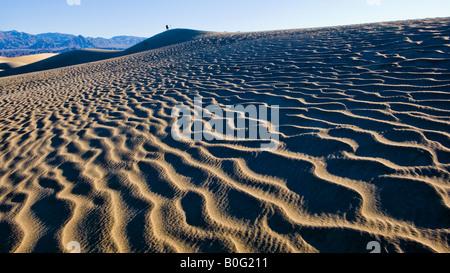Stovepipe Wells Dunas de Arena del Parque Nacional Valle de la muerte de California EE.UU.
