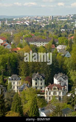 villas en neroberg distrito de wiesbaden alemania foto. Black Bedroom Furniture Sets. Home Design Ideas