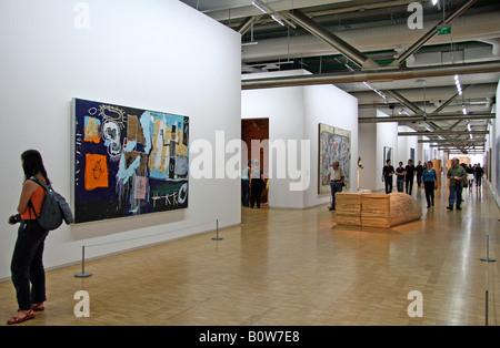 Musée National d'Art Moderne, Museo de Arte Moderno, M.N.A.M en el Centre National d'art et de Culture Georges Pompidou, centr