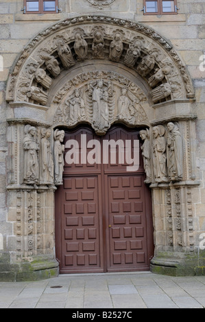 Portal del Colegio de San Xerome (siglo XVII), Santiago de Compostela, Galicia, España