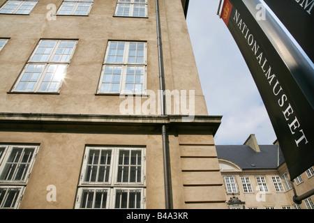Nationalmuseet o Museo Nacional de Copenhague, Dinamarca.