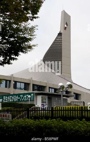 En el Estadio Nacional Yoyogi Yoyogi Park en Tokio, Japón.