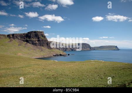 Moonan Waterstein Head, Bahía, Isla de Skye Foto de stock