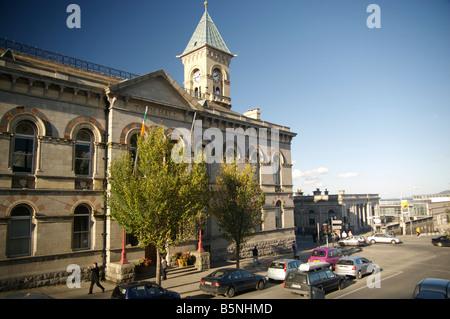 Dun Laoghaire Ayuntamiento Foto de stock