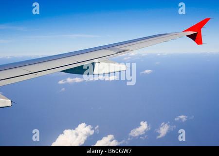 Aerofoil de un avión comercial