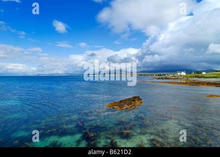 Broadford Bay, Isla de Skye, Escocia, Gran Bretaña, Europa Foto de stock