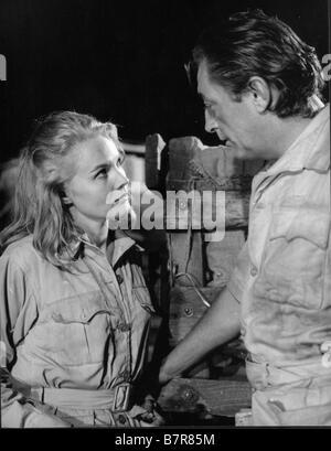 L'Aventurier du Kenya Mister Moisés Año: 1965 EE.UU. Robert Mitchum, Carroll Baker Director: Ronald Neame