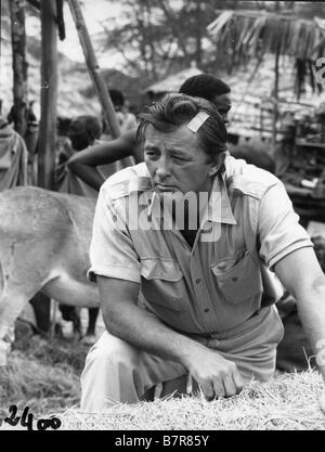L'Aventurier du Kenya Mister Moisés Año: 1965 EE.UU. Robert Mitchum, Director: Ronald Neame