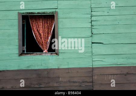Una casa en El Castillo, Nicaragua.