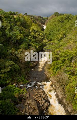 Umauma Falls - Big Island, Hawaii, EE.UU.