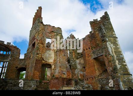 Casa Cowdray ruins, Midhurst, West Sussex, Reino Unido