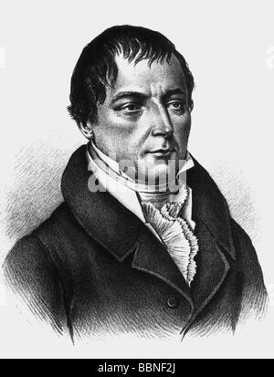 Buch, Christian Leopold Von, 26. 4.1774 - 4.3.1853, científico alemán (geólogo), retrato, grabado contemporáneo, ,
