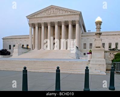 El edificio de la Corte Suprema de los Estados Unidos, Washington, D.C.