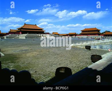 El Hall de la Suprema Armonía de la Ciudad Prohibida en Beijing, China