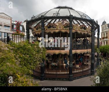 Carrusel, Phantasialand, theme park, Bruehl, Renania del Norte-Westfalia, Alemania, Europa