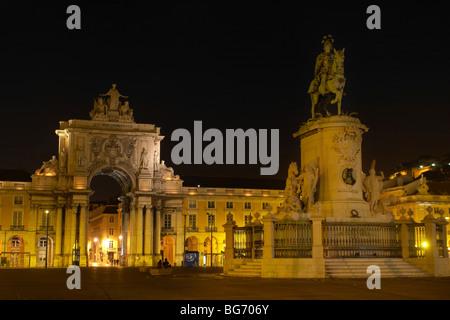 La Praça do Comércio / Commerce Square en Lisboa